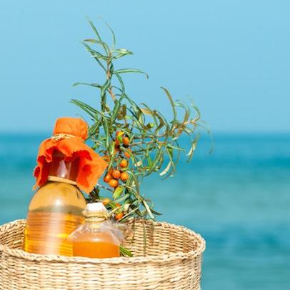 Typisch norddeutsch: leckere Sanddornprodukte, Vitamin C-haltig